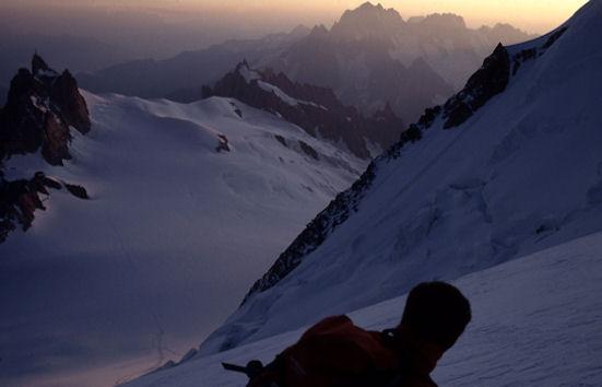 2 Salendo alla spalla del Mont Maudit