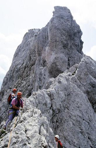 15 La Creta dei Cacciatori dall'intaglio alla fine della via