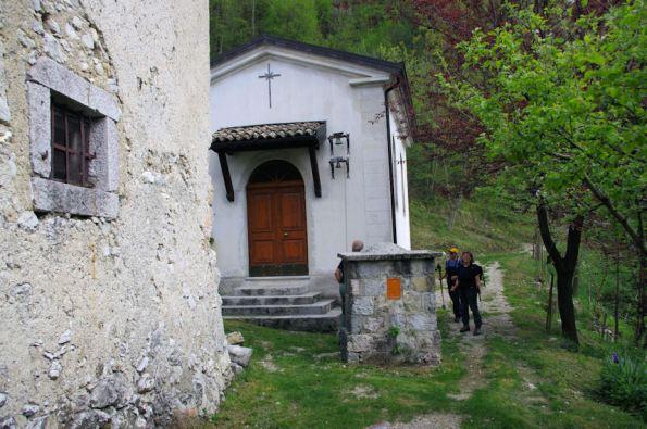 La chiesetta di Moggessa di là