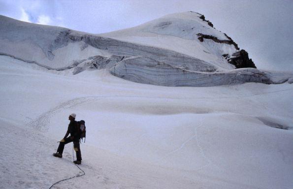11 Il Trifthorn dal ghiacciaio del Mountet