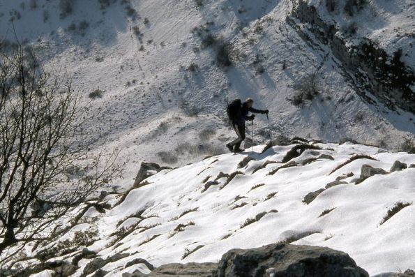 11 In alto un po' di neve